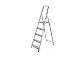 step ladder Al 1x5 one-sided with handle