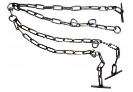 double chain for cattle, thickness 5 mm