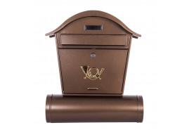 post box ST 103 (round roof)