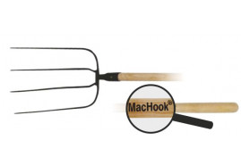 MacHook fork BAV. 4 tines with handle 130 cm black